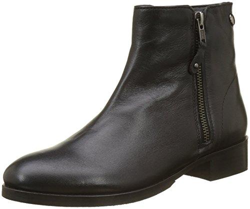 Initiale Damen Matilda Biker Boots Noir (Noir)