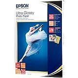 Epson C13S041944 Ultra Glossy Photopapier Inkjet 300g/m2 130x180 mm 50 Blatt Pack