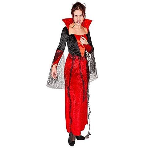Opération Jeu Costume - Déguisement pour femmes robe gothique de vampire