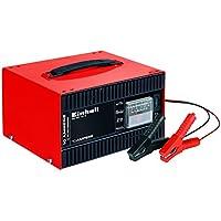 Einhell Batterie-Ladegerät CC-BC 10 E (für Batterien von 5 bis 200 Ah, 12 V Ladespannung, eingebautes Amperemeter, Ladeelektronik, Tragegriff)