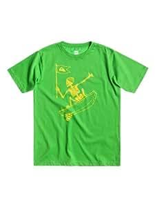 Quiksilver Basic T-Shirt manches courtes garçon Grasshopper FR : 10 ans (Taille Fabricant : T10)