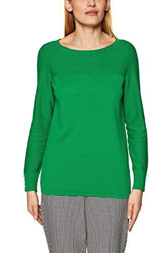 ESPRIT Damen 029EE1I001 Pullover, Grün (Green 310), Medium Grüne Damen Pullover