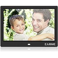 Marco de Fotos electronico Pantalla LCD 10 Pulgadas con Marco Digital de Fotos y Control Remoto