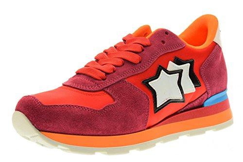 atlantic-stars-donna-sneakers-bassa-vega-fra-85c-taglia-39-rosso