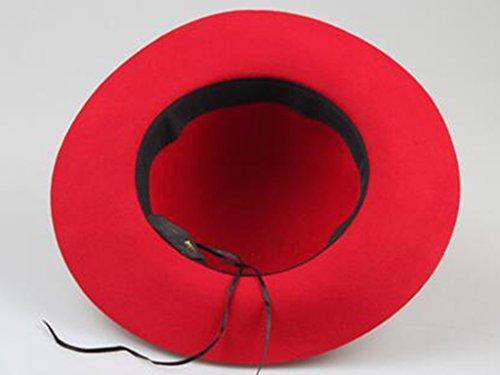 Femme d'été Couleur unie Sunscreen chapeau de soleil Anti-UV Grandes corniches chapeau de soleil ( couleur : 4 ) 1