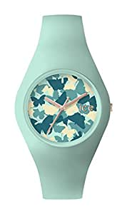Ice-Watch - ICE fly Luminous mint - Montre verte pour femme avec bracelet en silicone - 001282 (Medium)