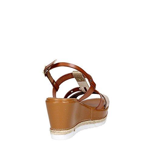 IAS939403 002 Sandal Damen Braun Leder 38 Cinzia Soft SbugCLRm