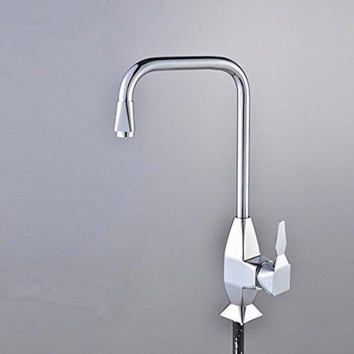 Preisvergleich Produktbild zhongs Legierung HOT und kalten Küche Multifunktions-Caipen Wasserhahn 360Wasserhahn silber