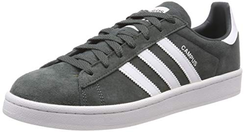 cheap for discount d9401 a2e98 adidas Mens Campus Gymnastics Shoes, Grey Legend IvyFTWR Crystal White,  ...