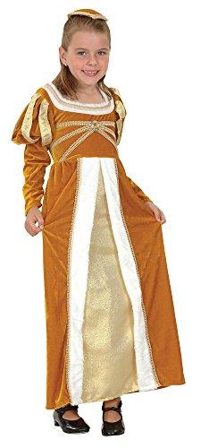 2Regal Prinzessin/Josephine Kinder-Kostüm (mittel), ca. Alter 5-7Jahren, Regal Prinzessin/Josephine Kostüm Kinder (M) ()