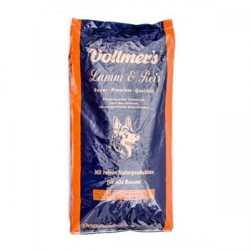 Vollmers Lamm & Reis 15 kg, Trockenfutter, Hundefutter