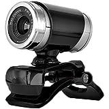 MOGOI(TM) Telescope Shape 0.3 Mega Pixel Webcam PC Laptop Camera with Built in Microphone Supports Windows 2000 XP Vista/7/8 with MOGOI Accessory