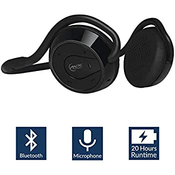0c4b3d00b42 ... (Gen 2) - Bluetooth Sports Headphone with Microphone I Foldable  Neckband I Removable Earpads I Wireless On-Ear Sports Headphone with Hard  Case - Black