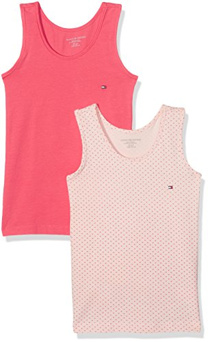 tommy-hilfiger-2p-cami-top-print-debardeur-fille-rouge-sea-shell-pink-dot-rouge-red-104-taille-fabri