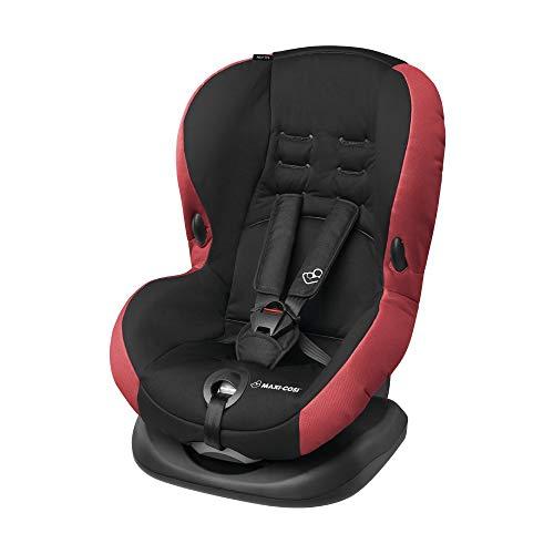 Maxi-Cosi Priori SPS Plus KinderautoSitz optimaler Seitenaufprallschutz und 4 Sitzund Schlafpositionen, Autositz ab 9 Monate bis 4 Jahre, pepper black (rot/schwarz) 9-18 kg