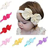 Luckystaryuan Christmas Gift Set Of 7 Girls Hair Headbands Butterfly Bows (Cute)