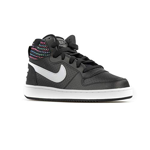 Nike Herren Court Borough Mid Se (gs) Sneakers, Mehrfarbig (Black/White/Volt/Racer Blue 001), 39 EU -