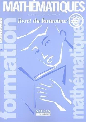 Formation Mathématiques by Jean-Michel Lagoutte (2002-08-30)