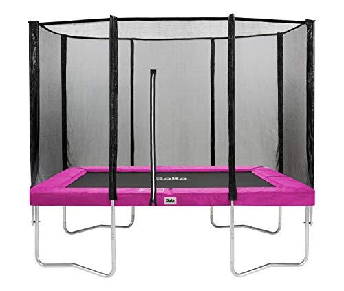 Salta Combo Trampolin - rechteckig - 214 x 305cm - Pink