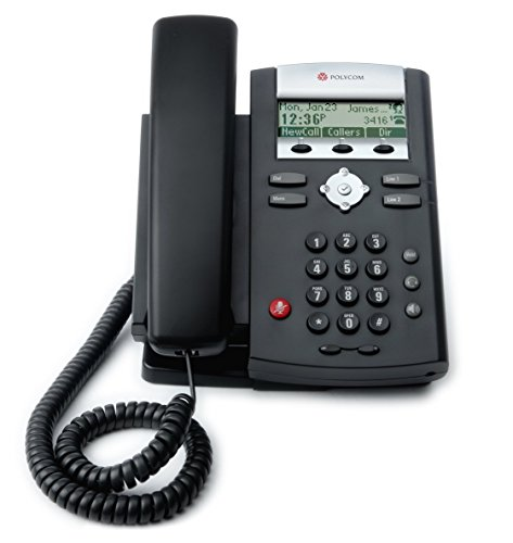 Polycom SoundPoint IP 331 VoIP Phone (2200-12365-025) - (Certified Refurbished)