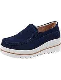 Creepers (38, Bleu marine): : Chaussures et Sacs