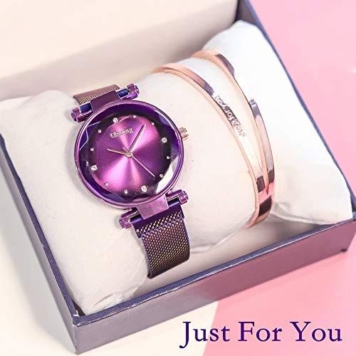 CJWANXF Reloj para Mujer Reloj de Pulsera Exclusivo para Mujer Relojes Mujer Relojes de Pulsera