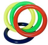 Hudora 75981 - Juegos al Aire Libre y Deportes, Anillos de colores Buceo, 1 unidad (colores surtidos) [Importado de Francia]