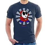 Photo de Cloud City 7 Shy Guy Retro Japanese Mario Men's T-Shirt par Cloud City 7