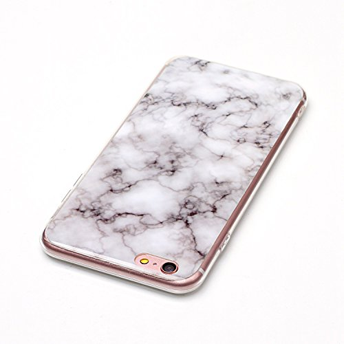 GR TPU Cover für Apple IPhone 6 6s Plus Case Marbling Texture Soft TPU Cover Slim Ultra Thin Anti-Kratzer Schock Absorption Schutzmaßnahmen zurück Deckung Shell ( Color : J ) E