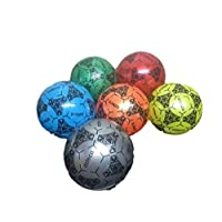 """WBL PVC Football 8"""" 25cm (Deflated) 20 Pack Assorted Colours"""