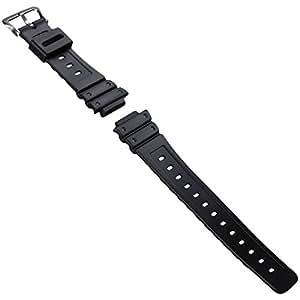 Bracelet de montre de remplacement pour Casio G-Shock DW-5600E, Noir, 16mm