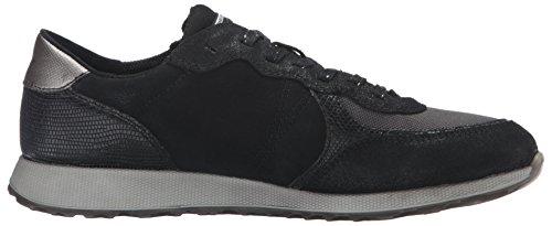 Ecco Sneak Ladies, Baskets Basses Femme Noir (BLACK-BLACK/BLACK/BLACK50117)