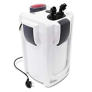 Filtro esterno per acquario SunSun HW-702B 1000 l/h 15Watt con UV 9W e 3 livelli