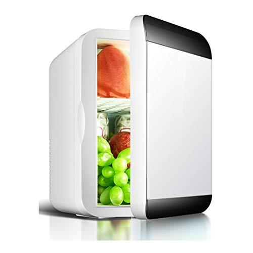 Auto-Kühlschrank mit doppeltem Verwendungszweck, Heizen und Kühlen von kleinen Wohnheimen mit Einer Tür Kühlung und Heizung, Kunststoffmaterial, 220 (V) ! (Color : Black, Size : Single 12L) - Doppel-tür Kompakt Kühlschrank