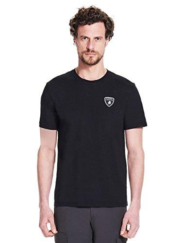 Automobili Lamborghini Herren T-Shirt Wappen Lamborghini Black S (Automobil-shirts Für Männer)