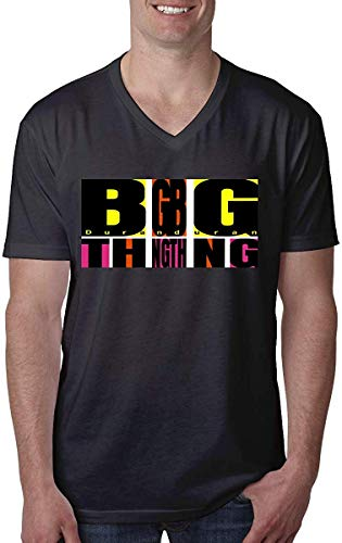 Duran Duran Big Thing Comfortable Man's V-Neck Tee - S to XXL