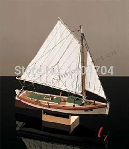 Madour modello di nave nave modello kit modellino nave sc 1:35 kit modello di barca a vela in legno intagliato al laser: l'antica barca americana