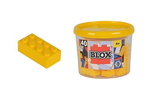 Blox - Bote de 40 Bloques, Color Amarillo (Simba 4118857)