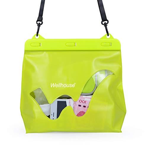 Festnight wasserdichte PVC Kulturbeutel Travel Dry Case Packtasche für Outdoor Beach Camping Kayaking Rafting