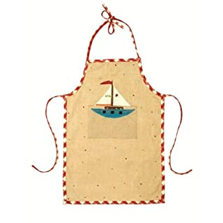 Win Green Toy Shop Apron, Natural