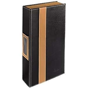 hama album photo cd rom pour 56 cd max noir marron import allemagne informatique. Black Bedroom Furniture Sets. Home Design Ideas