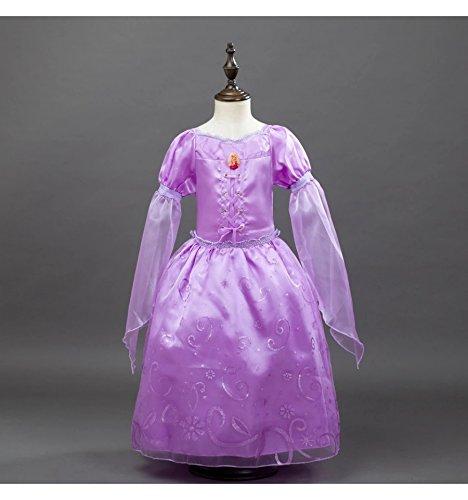 Imagen de rapunzel enredados disfraz inspirado 1 9 años  120 4 a 6 años