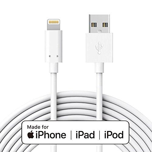 Cavo Caricatore per Apple iPhone [Certificato MFi Apple] 3M IQIYI Cavo Trasmissione Dati e Ricarica per Apple iPhone 7 / 7plus / 6s / 6s plus / 6/6 Plus,iPad,iPod and Mo