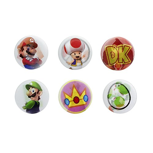 (Super Mario pp4030nn Linsenraster Pin Badge, One size)