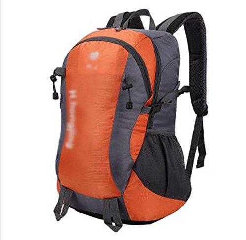 GBT Europäische Großraum-Mehrzweck-Outdoor-Bergsteigen Taschen Orange