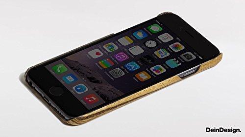 Apple iPhone 6 Holz Hülle Tasche Case Schutzhülle Wooden Kevlar Cover Holz Case Kevlar Zebrano