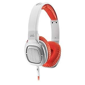 jbl j55i casque audio blanc orange high tech. Black Bedroom Furniture Sets. Home Design Ideas