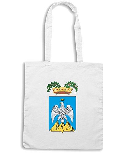 T-Shirtshock - Borsa Shopping TM0117 provincia dell Aquila citta Bianco