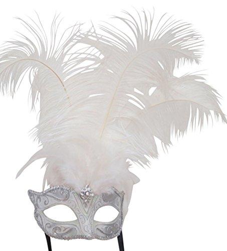 er Feder Venezianischen Masquerade Partei Karneval Maske ()