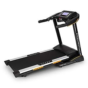 CAPITAL SPORTS Pacemaker X30 tapis de course • home trainer • 3 ch • 22 km/h • cardiofréquencemètre • écran LCD • 36 progs • capteur de pouls • récepteur sans fil • 0-20 % • enceintes • pliant • noir